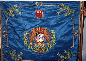 Die Traditionsfahne von 1912 (Vorderseite)