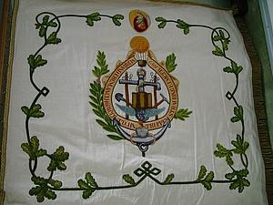 Die Traditionsfahne von 1912 (Rückseite)