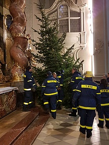 Christbaum Ursulinenkirche